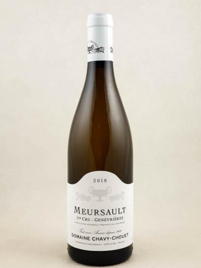 "Chavy Chouet - Meursault 1er cru ""Genevrières"" 2017"
