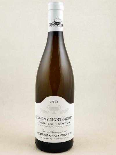 "Chavy Chouet - Puligny Montrachet 1er cru ""Champs Gain"" 2017"