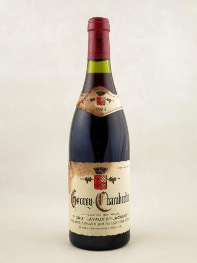 "Armand Rousseau - Gevrey Chambertin 1er cru ""Lavaux Saint Jacques"" 1983"