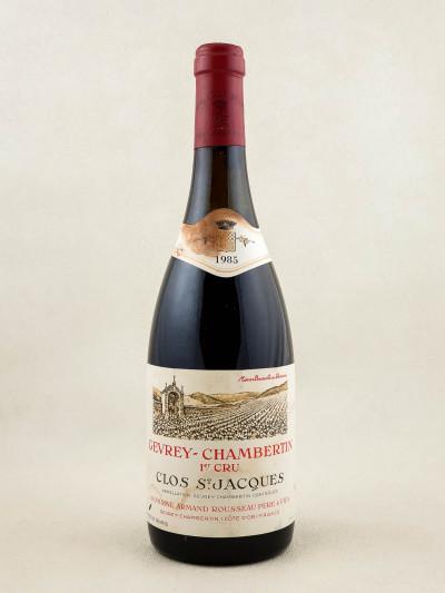 "Armand Rousseau - Gevrey Chambertin 1er cru ""Clos Saint Jacques"" 1985"