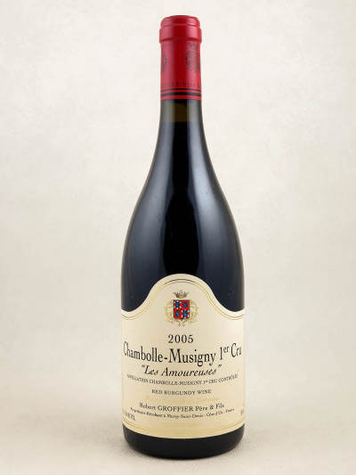 Robert Groffier - Chambolle Musigny 1er cru Les Amoureuses 2005