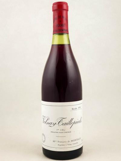 De Montille - Volnay 1er cru Taillepieds 1978