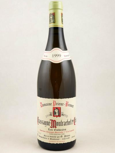 """Prieur Brunet - Chassagne Montrachet 1er cru """"Embazées"""" 1999"""