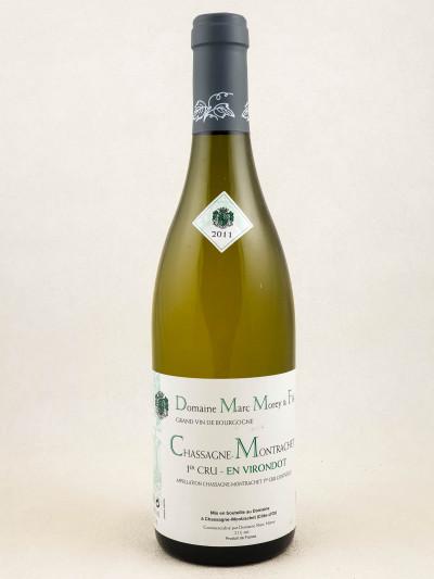 "Marc Morey - Chassagne Montrachet 1er cru ""En Virondot"" 2011"