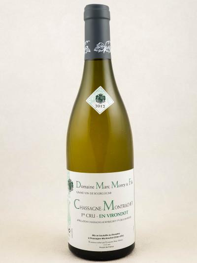 "Marc Morey - Chassagne Montrachet 1er cru ""En Virondot"" 2012"