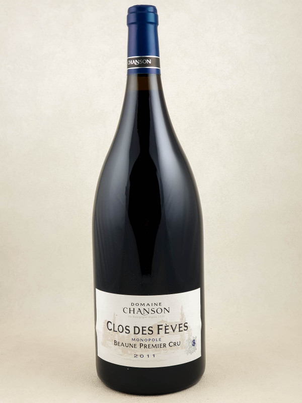 """Chanson - Beaune 1er cru """"Clos des Fèves"""" 2011 MAGNUM"""