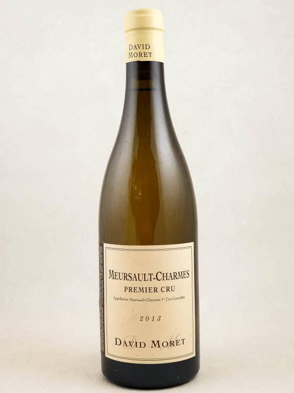 """David Moret - Meursault 1er cru """"Charmes"""" 2013"""