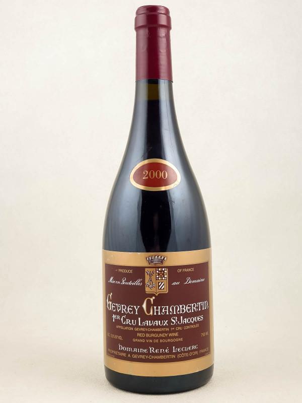 René Leclerc - Lavaux St Jacques 2000
