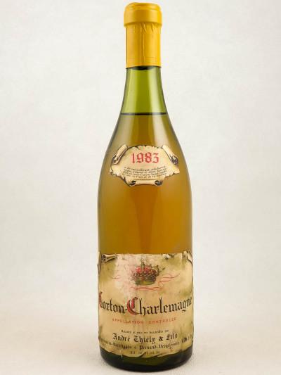 André Thiély - Corton Charlemagne 1983