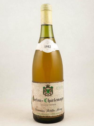 Berthe Morey - Corton Charlemagne 1982
