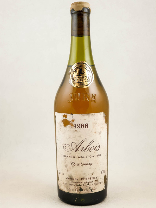 Jacques Puffeney - Arbois Chardonnay 1986