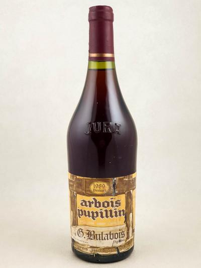 G. Bulabois - Arbois Pupillin Poulsard 1989