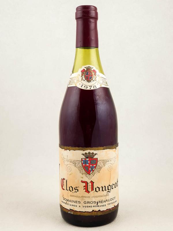 Gros Frère & Soeur - Clos Vougeot 1978
