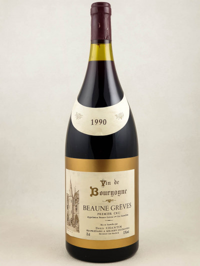 "Denis Chantin - Beaune 1er cru""Grèves"" 1990 MAGNUM"