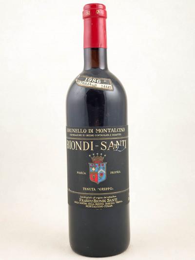 Biondi Santi - Brunello di Montalcino 1986
