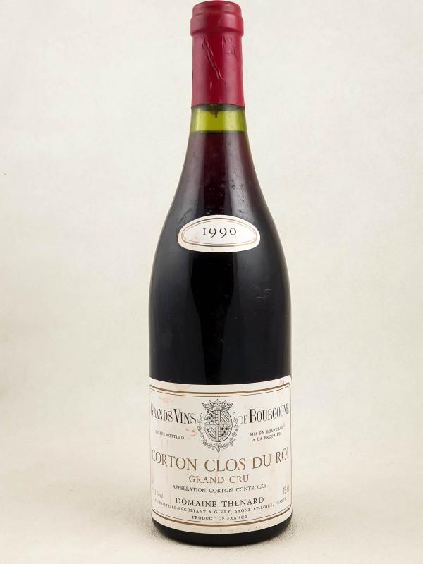Domaine Thénard - Corton Clos du Roi 1990