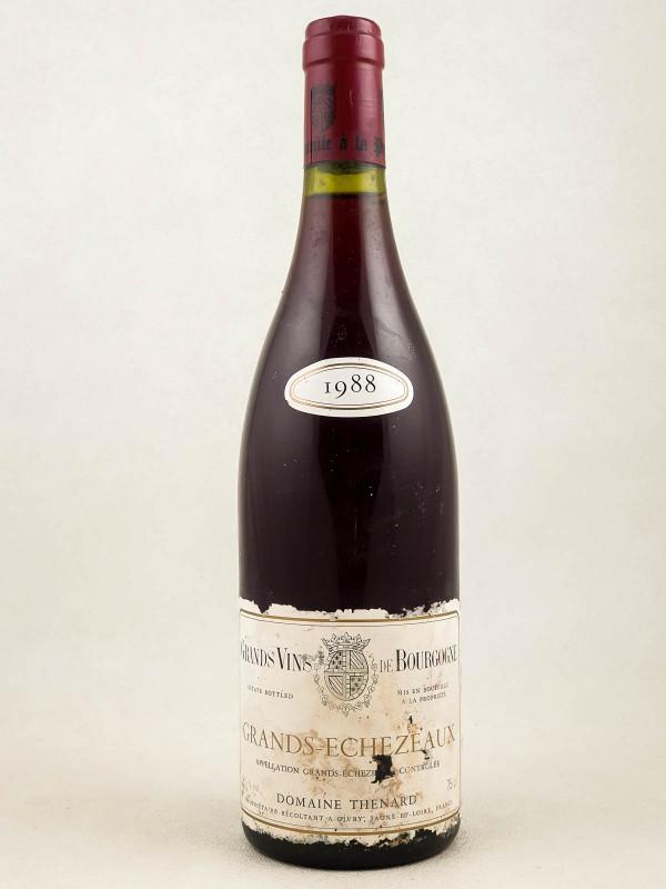 Domaine Thénard - Grands Echezeaux 1988