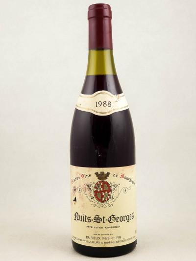 Durieux - Nuits Saint Georges 1988