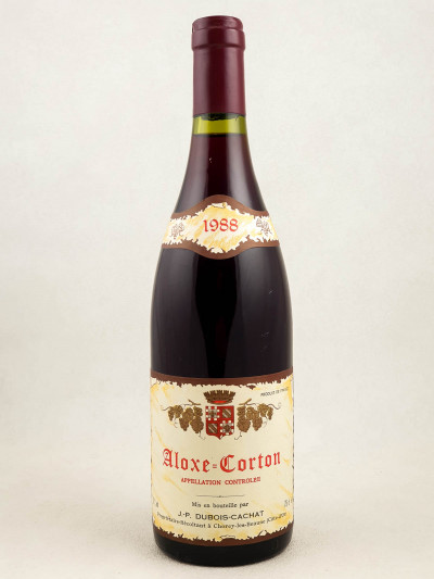 Dubois Cachat - Aloxe Corton 1988