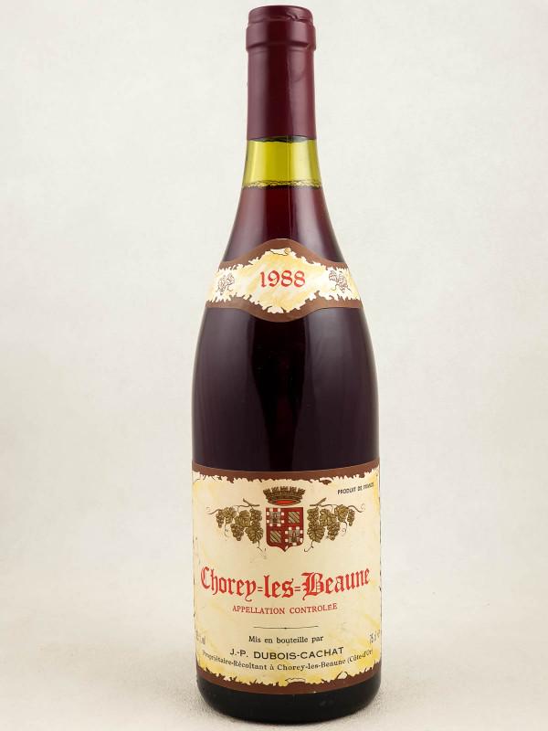 Dubois Cachat - Chorey les Beaune 1988
