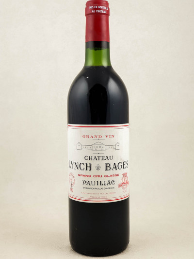 Lynch Bages - Pauillac 1982