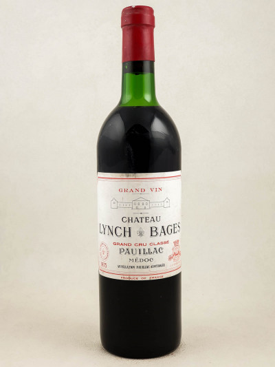 Lynch Bages - Pauillac 1975