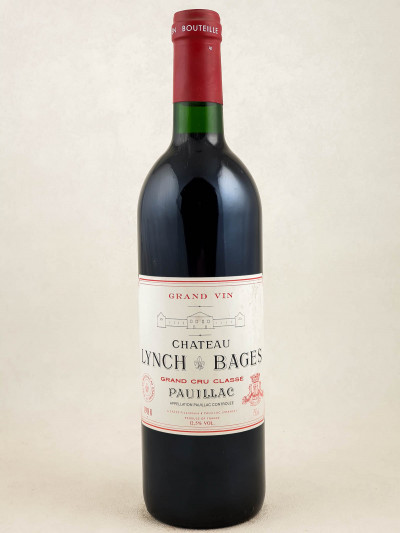 Lynch Bages - Pauillac 1988