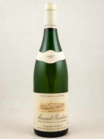 """Roulot - Meursault 1er cru """"Bouchères"""" 1997"""