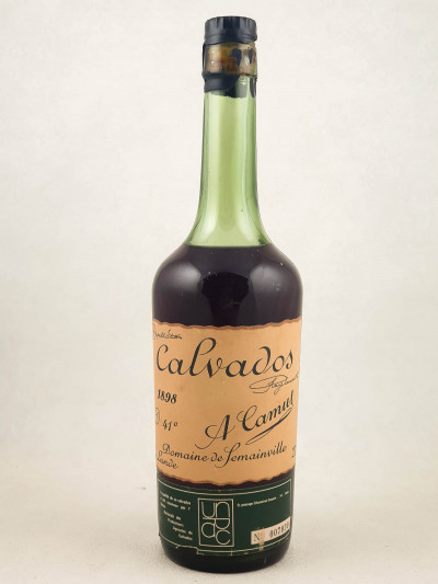 A.Camut - Calvados Domaine de Semainville 1898