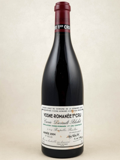 "Romanée Conti - Vosne Romanée 1er cru ""Cuvée Duvault Blochet"" 2004"