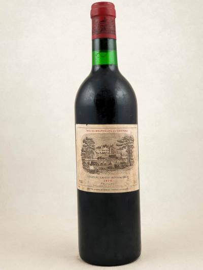Lafite Rothschild - Pauillac 1979