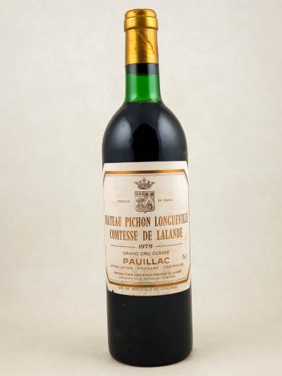 Pichon Longueville Comtesse de Lalande - Pauillac 1979