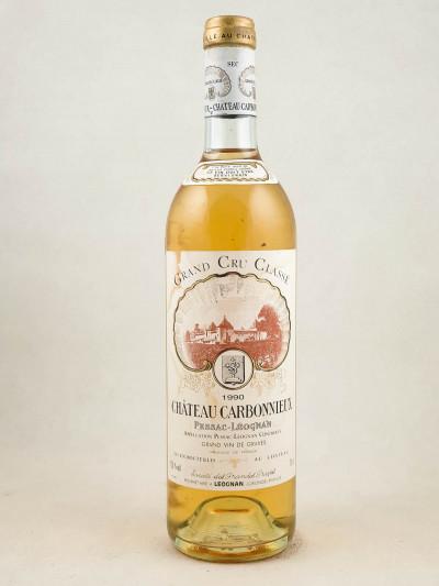 Carbonnieux Blanc - Pessac Léognan 1990