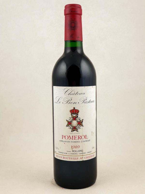 Le Bon Pasteur - Pomerol 1989