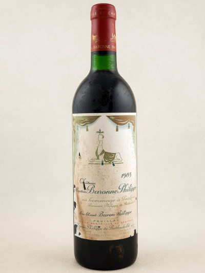 Mouton Rothschild - Pauillac 1988