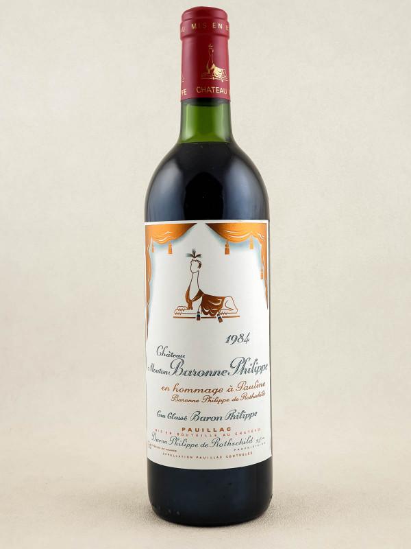 Mouton Baronne Philippe ( d'Armailhac ) - Pauillac 1984
