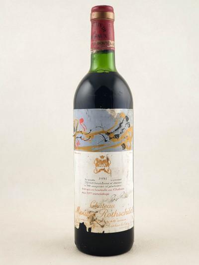 Mouton Rothschild - Pauillac 1981