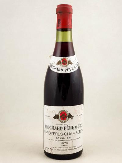 Bouchard Père & Fils - Mazoyères Chambertin 1970