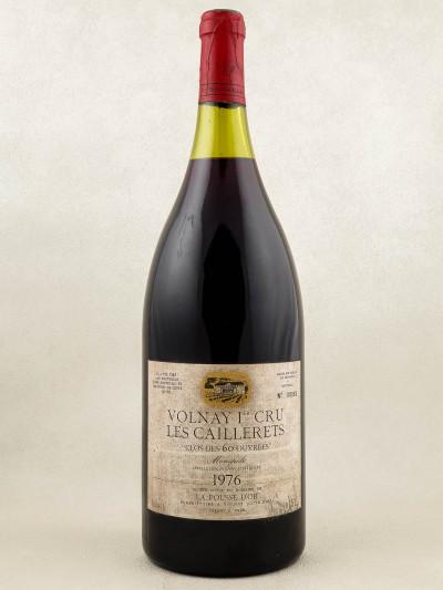 """La Pousse d'Or - Volnay 1er cru """"Clos des 60 ouvrées"""" 1976 MAGNUM"""