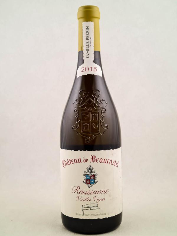 """Beaucastel """"Roussanne Vieilles Vignes"""" - Châteauneuf du Pape 2015"""