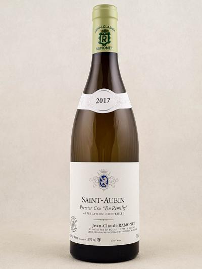 """Ramonet - Saint Aubin 1er cru """"En Remilly"""" 2017"""