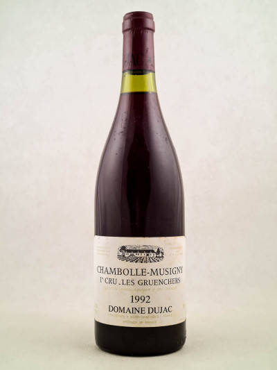 "Dujac - Chambolle Musigny 1er cru ""Les Gruenchers"" 1992"