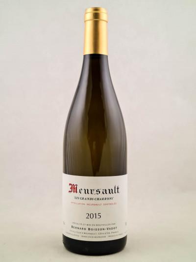 """Boisson Vadot - Meursault 1er cru """"Les Grands Charrons"""" 2015"""