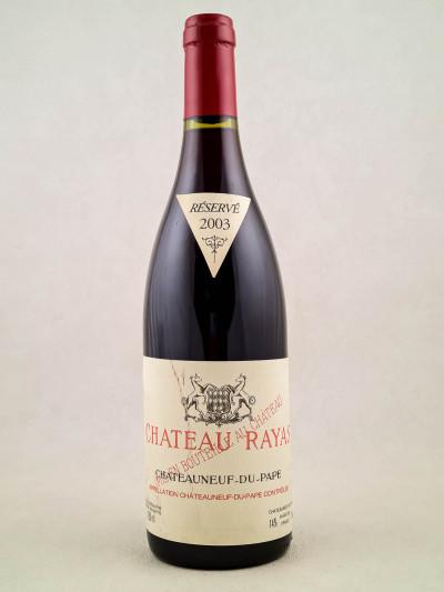 Rayas - Châteauneuf du Pape 2003