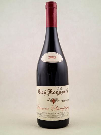 "Clos Rougeard - Saumur Champigny ""Poyeux"" 2003"