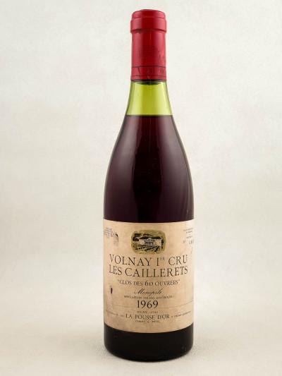 """La Pousse d'Or - Volnay 1er cru """"Clos des 60 ouvrées"""" 1969"""