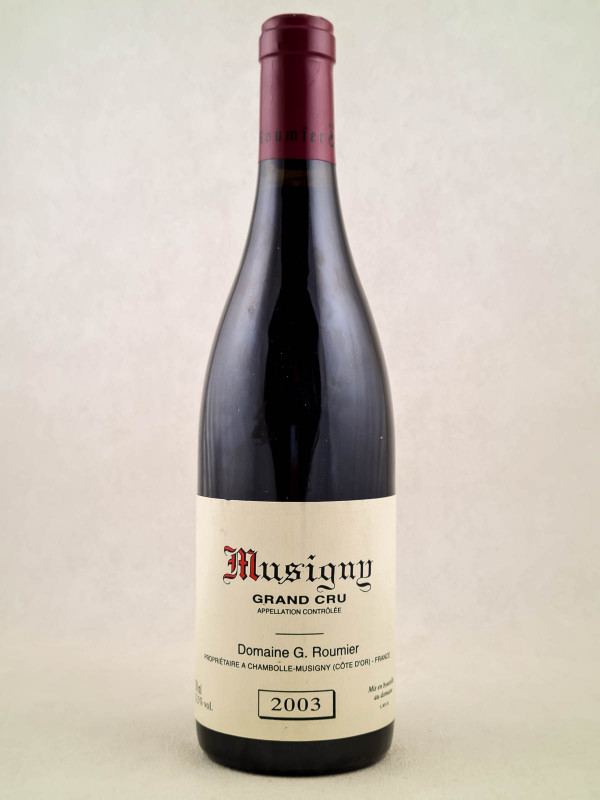 Georges Roumier - Musigny 2003