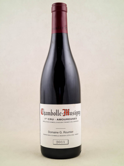 """Georges Roumier - Chambolle Musigny 1er cru """"Amoureuses"""" 2011"""