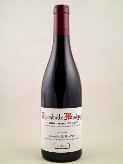 "Georges Roumier - Chambolle Musigny 1er cru ""Amoureuses"" 2017"