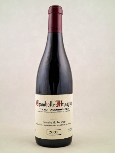 "Georges Roumier - Chambolle Musigny 1er cru ""Amoureuses"" 2005"